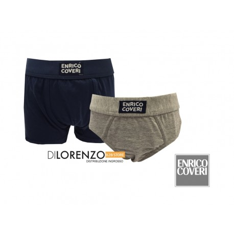 SLIP/BOXER ASSORTITO BABY JUNIOR 4015 ENRICO COVERI