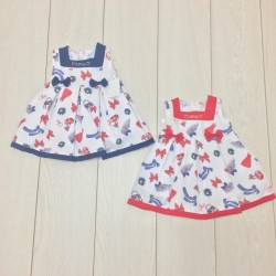 VESTINA NEONATA CL3561 MINI KISS