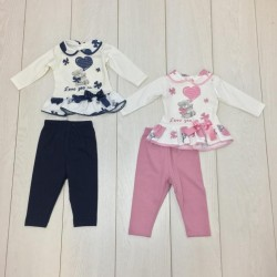 COMPLETO NEONATA CL3602 MINI KISS