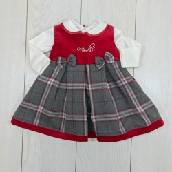 VESTINA NEONATA CL3834 MINI KISS