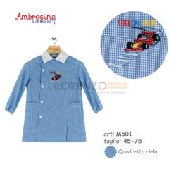 GREMBIULE ASILO MASCHIO M501 QC AMBROSINO