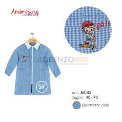 GREMBIULE ASILO MASCHIO M532 QC AMBROSINO