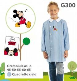 GREMBIULE ASILO MASCHIO G300 QC TOPOLINO