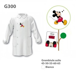 GREMBIULE ASILO MASCHIO G300 BNC TOPOLINO