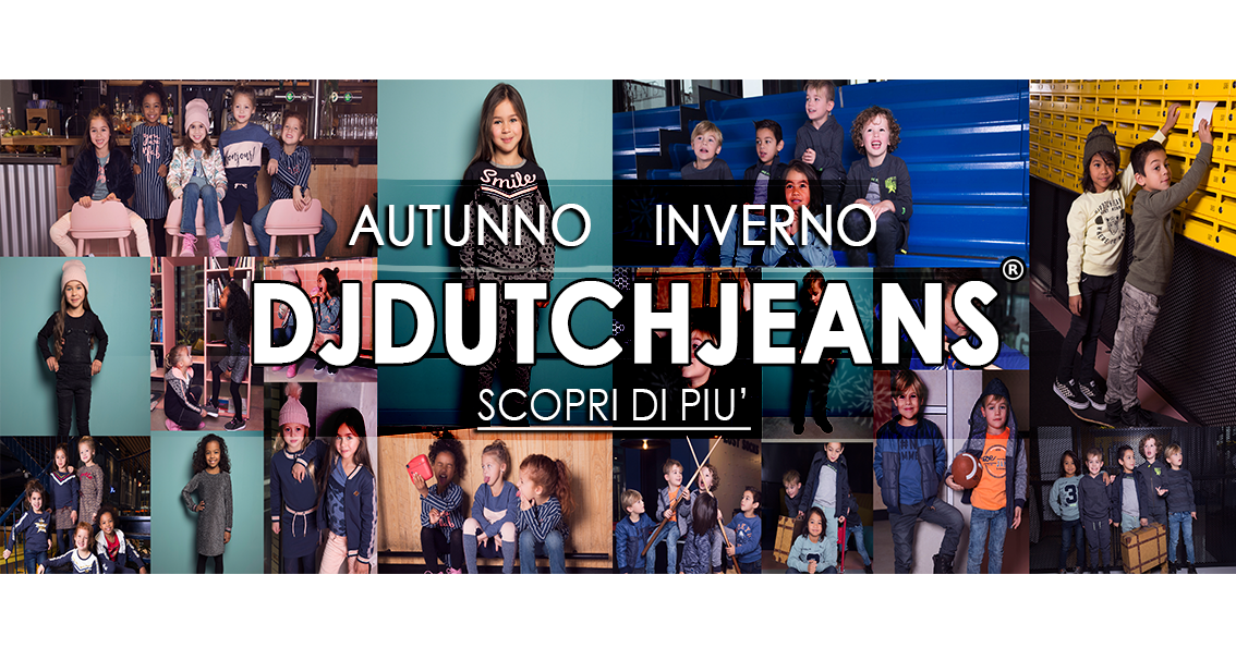 DJ DUTCHJEANS - AUTUNNO INVERNO 2019/20